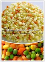 frozen mixed vegetables with FDA BRC,HALAL,KOSHER,HACCP