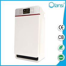Portable installation and electrical power source air purification