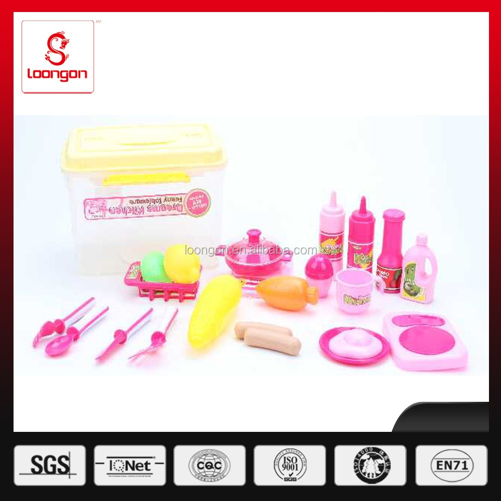 loongon mini kitchen play set toy