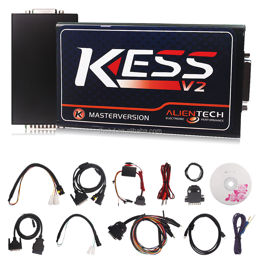 Orignal V4.036 Firmware KESS V2 OBD2 Manager Tuning Kit Master Chip Tuning Remapping for BMW ECU Programmer Programming Tool