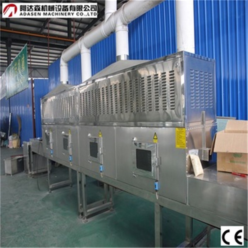 Industrial Tunnel Conveyor Belt Microwave Talcum Powder Sterilization Machine/Talcum Powder Machine