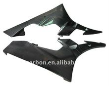 Carbon fiber racing motorcycle lower fairing