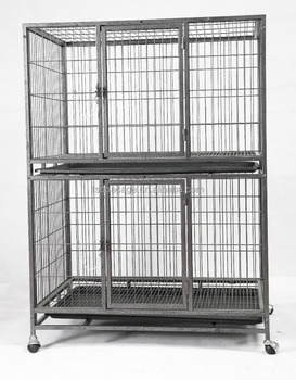 Metal Dog Cage 94X64X128cm