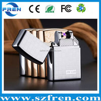 Hot Product Li-ion Battery Rechargeable USB FR-202 torch lighter No Gas