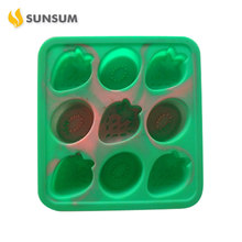 Stocked 16*15*2.5Cm Personalized Ice Cube Tray