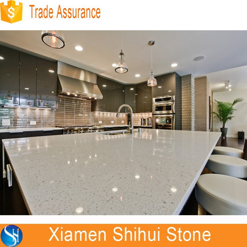 Great Light Grey Quartz Countertop