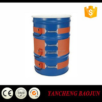 120V 1500W silicone heater for 55 gallon oil drum
