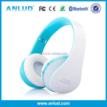 Factory direct ALD06 Over-ear Headband Handsfree ABS material top quality foldable and retractable headphone
