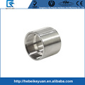 Factory custom stainless steel female thread coupling plain gas pipe fittings
