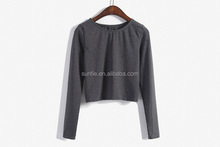 women long sleeve wholesale assorted colors bangladesh plain t-shirts
