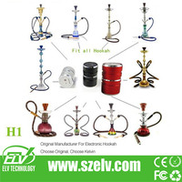 ELV 2014 Newest bottom coil antique hookahs pen evod accept paypal