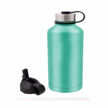 Insulated Vacuum Stainless Steel Water Flask And Beer Growler, 18oz/40oz/64OZ W/ wide mouth