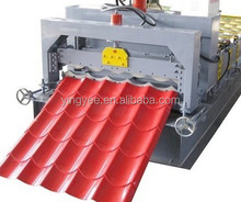 Full Automatic Color glazed tile roofing roll forming machine