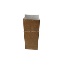 Wholesale luxury printed wine bottle brown tyvek paper bag for wine