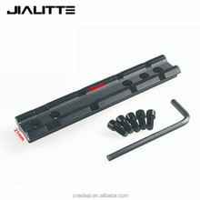 Jialitte M57 Tactical Sporting Picatinny Weaver Rail Scope Mount 20mm Dovetail to Weaver Adapter Picatinny Rail J013