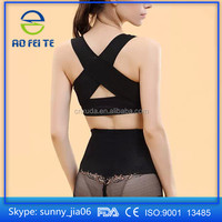 Breast up chest support belt band Posture Corrector Brace body shaping bra belt underwear