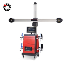 Canton Fair Excellent repeatability 3d wheel alignment machine price for car repair