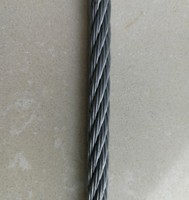 galvanized steel wire rope 6*7+FC for cable carriage
