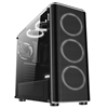 JESM Dream MX400 Mid-tower Side Transparent Panel Black Computer Gaming Case