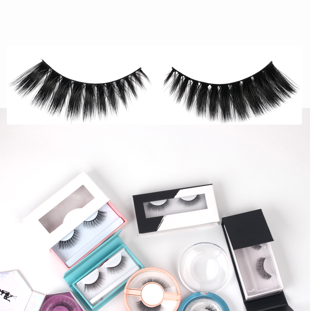Wholesale 100% Real Siberian Handmade Mink Lashes High Quality Lashes Private Label 3d Mink Eyelashes