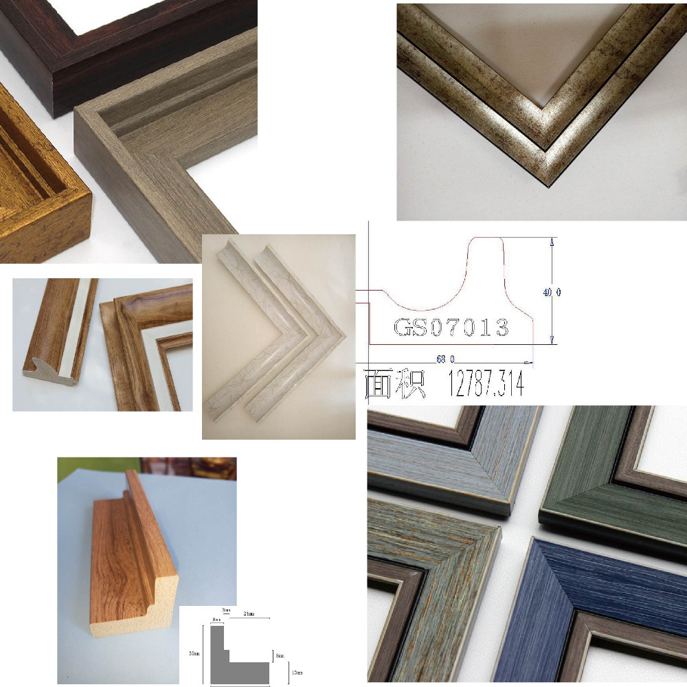 Wooden Materials Nice wooden Antique Picture Frame Moulding
