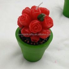 Hot Sale Fashion Rose Flower Candles for Valentine's Day