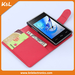 wholesale alibaba high quality flip leather case for lg t585 t580