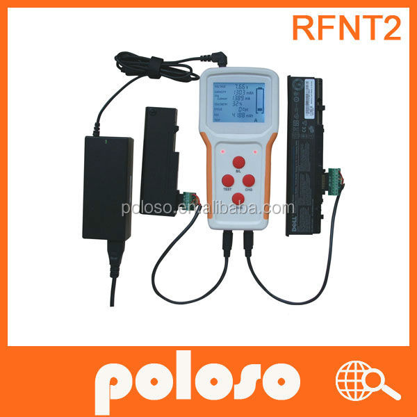 Poloso Universal Laptop Battery Tester, Support Two Batteries at Once.