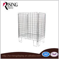 2016 OEM new type stainless Steel Container Wire Cage