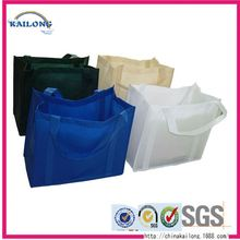Personalized Double Sided Promotional Non Zipper Pp Woven Polypropylene Tote Shopping Bag