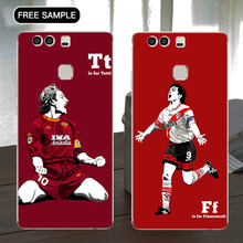 Free sample football players phone case for huawei V8 World famous football team phone case with L/C