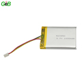 smallest lipo cell 523450 3.7v 1000mAh rechargeable lithium polymer battery