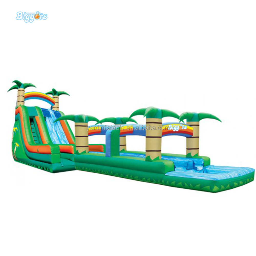 Free Shipping BY SEA China High Qality Big Commercial Outdoor Park Giant Hippo Inflatable Water Slide Price For Adult an Kids