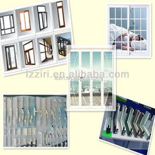 factory supply all kinds of pvc and aluminium windows and doors cheap price