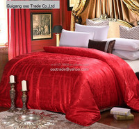 100% pollution-free handmade mulberry silk quilt/ silk duvet for bedding