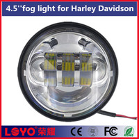 "super brightness 4.5"" motorcycle led light for harley davidson 12v 24v fog lamp"