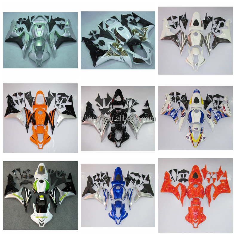 INJECTION Fairing Bodywork Kit Fit For Honda CBR600RR F5 2007 2008 23B New