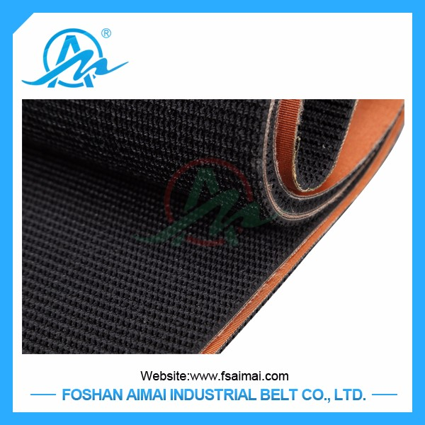 Customized heat resistant Rubber endless conveyor Belt used in production line