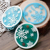 2015 Promotional cheap fashion design clear glass coasters wholesale cup mat wholesale Plastic Acrylic Drink Coasters