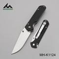 High quality black color comfortable handle folding knife