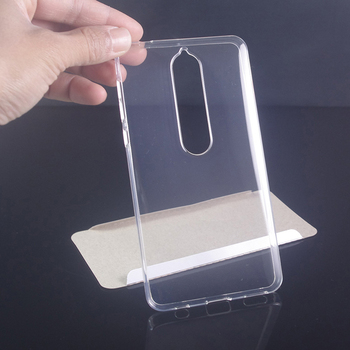 Transparent Clear TPU Gel Cover For Nokia 6 2018 Case Mobile Phone Shell