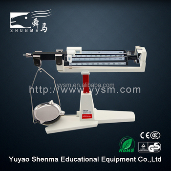 Professional physics educational equipment supplier quadruple beam 311g weight balance physics