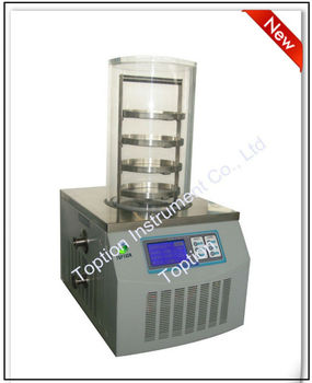 Laboratory vacuum freeze dryer dehydrator for fruit/food