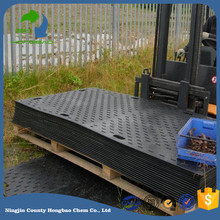 hdpe access lawn temporary road mats crane outrigger pad