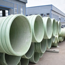 Low friction coefficient grp pipes for water supply