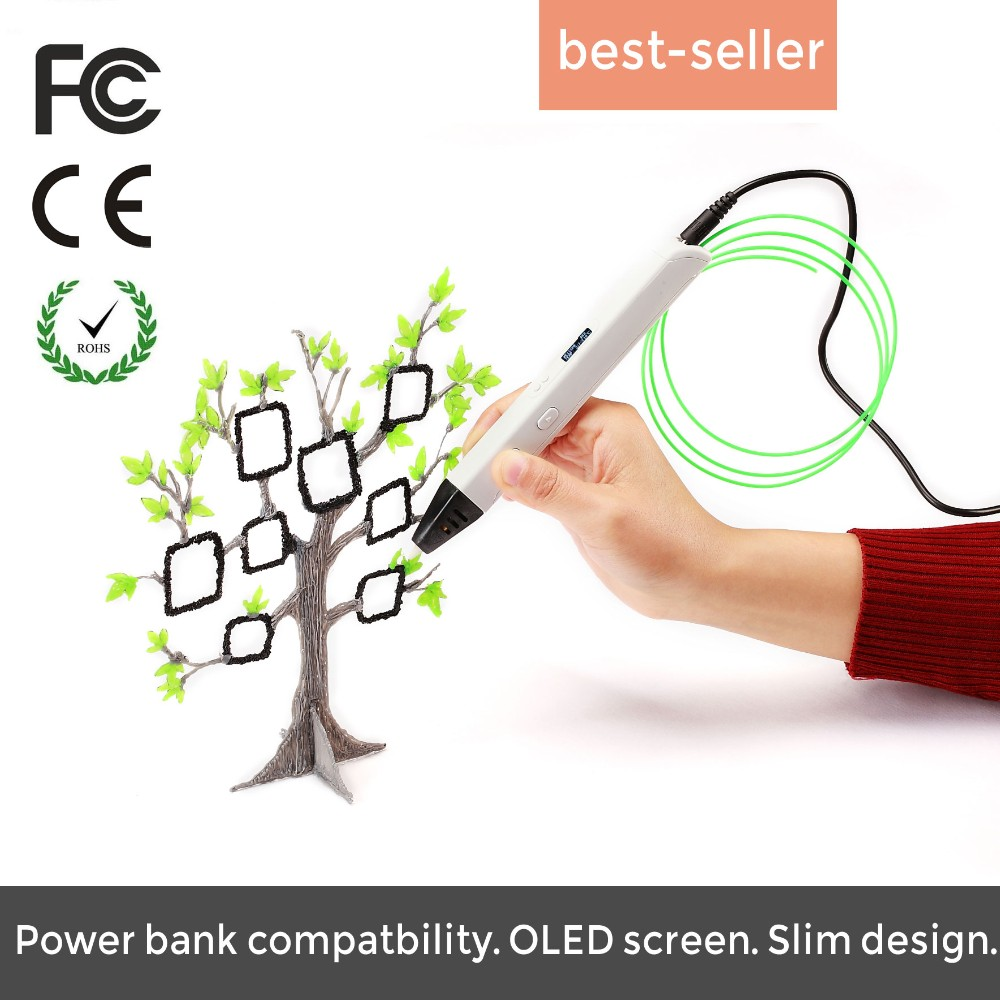 JER USB 3D pen for Adult business gift and Children toys pen