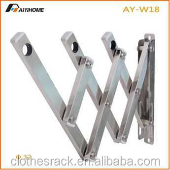 Stainless steel Accordion Clothes Drying Racks, Folding Racks for Dryer, Retractable Clothing Drying Equipment