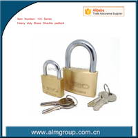 Top Security Brass Padlock, Padlock, shackle padlock with Best competitive Price!