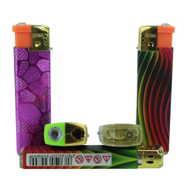 China OEM lighter factories cheap bulk wholesale sexy picture wrap electronic windproof sex lighter