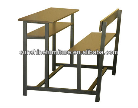 Classroom Bench / Student Double Table and Chair